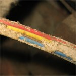 Click here to see full details of rodent damage to electrical cables